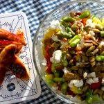 Kylling med flyttesalat