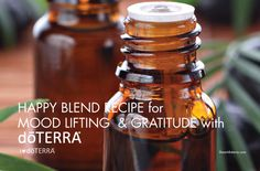 Happy Essential Oil Blend Recipe for Mood Lifting and Gratitude | I Heart dōTERRA