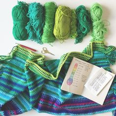 So with my crazy idea of doing two blankets at once it did not leave me with time for my temperature blanket. I caught up on the first week but I lost a day of work but now that the blankets are complete I just needed a night off. Today has been very with my son's last Judo class and two birthday parties so I haven't had a chance to catch up yet but I'm working on it. These are my next colours in order from left to right. I'm just loving it. If the weather forecast is to be believe I'm going…