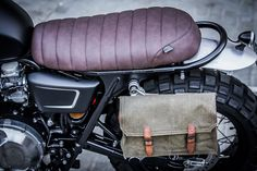 Triumph Bonneville Scrambler by Down & Out Cafe Racers Dominator Scrambler, Triumph Street Scrambler, Triumph Cafe Racer, Scrambler Motorcycle, Triumph Motorcycles, Motorcycle Bags, Motorcycle Accessories, Indian Motorcycles, Girl Motorcycle