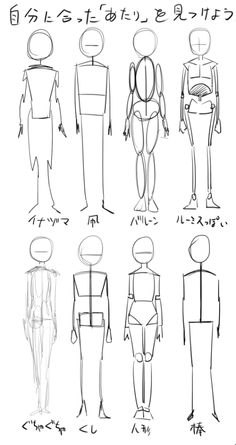 Different ways to draw a character Drawing Body Poses, Body Reference Drawing, Art Reference Poses, Figure Drawing, Body Drawing Tutorial, Sketches Tutorial, Art Tutorials, Drawing Tutorials, Drawing Tips