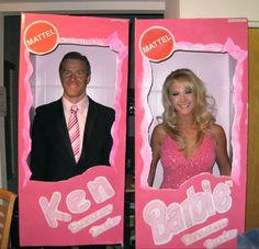 Ken and Barbie - Creative Couples Halloween Costumes