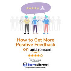 There are few things as crucial to your Amazon business as your Seller Feedback rating.  Buyers use this rating to judge you against other sellers. If the rating is neutral or low, there are good chance shoppers who won't trust your business and make a purchase.  Why Positive Feedback Is Hard to Collect Even if you're doing everything right as an Amazon seller—you're delivering on time, you resolve customer issues quickly—your rating might not be as high as you'd expect. Track Shipment, Warehouse Management, Amazon Advertising, Ecommerce Software, Amazon Fulfillment Center, Supply Chain Management, Amazon Seller, Positive Feedback, Do Everything