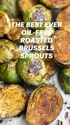 Roasted Veggies Recipe, Roasted Sprouts, Broccoli Sprouts, Oven Roasted Brussel Sprouts, Healthy Brussel Sprout Recipes, Best Brussel Sprout Recipe, Roasted Vegetables, Vegan Side Dishes, Side Dish Recipes