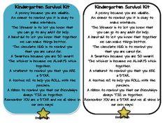 Parent Survival Kit Poem | just b.CAUSE