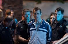 """Dicky Eklund (Christian Bale) getting arrested in """"The Fighter"""" (2010)."""