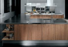 02 Contemporary kitchen ALYSSA by Zecchinon | Archisesto Chicago |