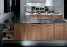 02 Contemporary kitchen ALYSSA by Zecchinon | Archisesto Chicago |