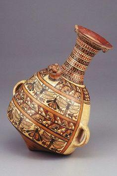Aribalo,vaso ceremonial de la cultura Inca- Peru