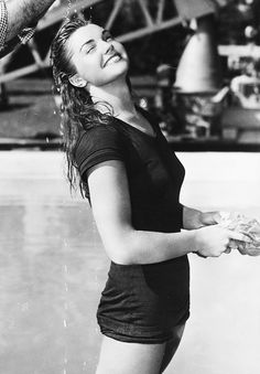 Esther Williams, back in the day.
