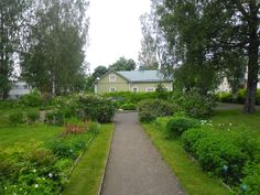 Pirtti Heritage Garden, Kangasniemi, South Savo, Finland. My maternal ancestors lived close by in the early 20 C.
