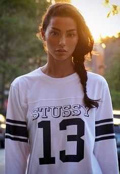 Complete your sporty look with a slouchy side plait and you're ready to rock! http://asos.to/1lUGvEY