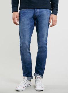 Topman 1970's wash jeans £30