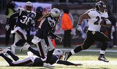 Baltimore Ravens hand New England Patriots a rare play-off defeat