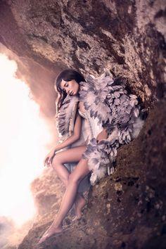 Fashion Inspiration (Gladiator Goddess Photoshoots - The Esquire Indonesia 'Caelestis' Editorial Stars Salvita DeCorte (GALLERY))