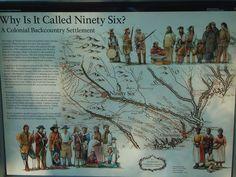 Ninety Six, South Carolina~1781 American Revolution~House of History, LLC.