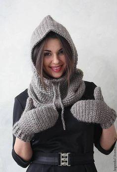 Капюшоны с шарфом (подборка) / Головные уборы / ВТОРАЯ УЛИЦА