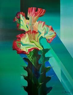 """Cactus"" 2 by Eugene Melamed"