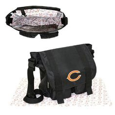 Chicago Bears NFL Sitter Baby Diaper Bag