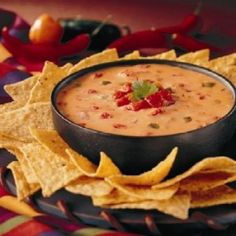 Don Pablos Queso Dip- because who knows when I'll be in the Midwest again, now all I need is a good tortilla recipe.