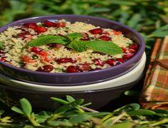 salade couscous et grenadine