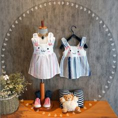 We are elated to roll out our newest catalogue of goodies.   Like and Share if you like this Bunny Dress (Pink/blue).  Tag a friend who would love our awesome range of kids clothes! FREE Shipping Worldwide.  Why wait? Buy it here---> https://www.babywear.sg/kids-baby-dress-new-summer-cotton-clothing-sets-rabbit-baby-overalls-sweet-baby-girl-vestidos-toddler-princess-dresses-ds19/   Dress up your infant in lovely clothes today!    #babysuits