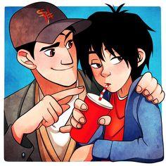 Hiro: tadashi stop Tadashi: no Hiro: why Tadashi : why not Hiro : fair enough