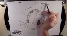 Video Tutorial: Learn to Draw Donald Duck