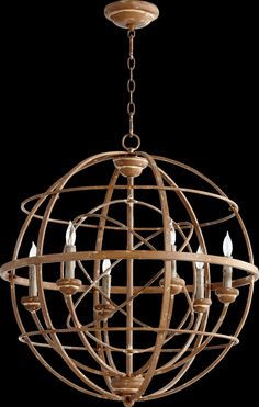 Quorum Salento 6 Light Candle Chandelier | AllModern