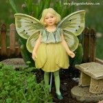 Buttercup Flower Fairy-where to BUY your Garden Fairies. $13.50