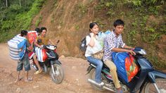 En moto-taxi aussi