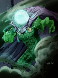 Spider-Man Rouges Gallery - Mysterio by KileyBeecher on deviantART
