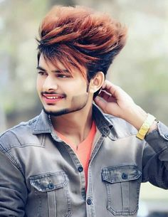 Boys Beard Style, Beard Styles For Boys, Hair And Beard Styles, Stylish Mens Haircuts, Cool Hairstyles For Men, Boy Hairstyles, Downtown Photography, Photography Poses For Men, Hair Look Boy