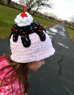 Inspiration  crochet d lane: Sweet Sundae Treats  No pattern