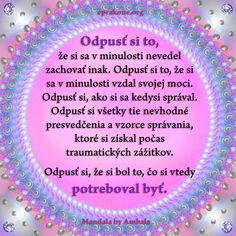 Mandala by Ambala: Nekritizuj sa za minulé zlyhania Development Quotes, Self Development, Face Yoga, Karma, Mandala, Motivation, Education, Crystals, Amen