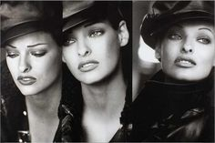ICONOGRAPHY — Linda Evangelista | Photography by Peter Lindbergh...