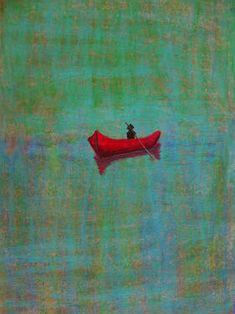 Peter Doig - Untitled. This is such a simple amazing piece.