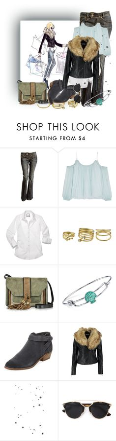 """""""Shopping"""" by rita257 ❤ liked on Polyvore featuring Elizabeth and James, L'Autre Chose, Disney, Dolce Vita, Boohoo and Christian Dior"""