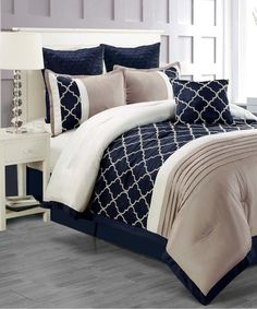 Loving this Taupe East Park Comforter Set on #zulily! #zulilyfinds