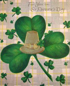 Vintage St. Patrick's Day card.