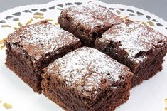 Sugar & Everything Nice: Chewy Chocolate Brownies No Cook Desserts, Brownie Bar, Chocolate Brownies, Brownie Recipes, No Bake Cake, Banana Bread, Bakery, Food And Drink, Cooking Recipes