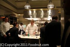 The French Laundry - Kitchen with Thomas Keller - 3 Michelin Stars.