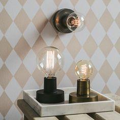 Bords & vägg lampa,