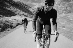 Rapha's vintage cycling style
