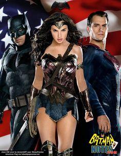 Batman v Superman movie poster by batmannotes