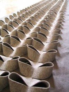 Fabric manipulation and textile design - Materia - Material - Contemporary Textiles - Textile Manipulation, Fabric Manipulation Techniques, Textiles Techniques, Techniques Couture, Sewing Techniques, Textile Texture, Art Textile, Fabric Textures, Textures Patterns