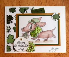 Doxie on the move by DCinkit - at Splitcoaststampers