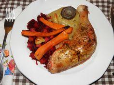 Karcsi főzdéje: Tepsis csirke combok