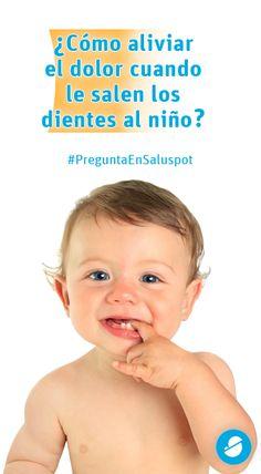 ¿Cómo aliviar el dolor cuando le salen los dientes al niño? https://www.saluspot.com/preguntas/37540-hola-buenas-tardes-como-puedo-calmar-al-nino-el-dolor-que-le-provocan-los-dientes-que-le-estan-saliendo #padres #bebes #salud