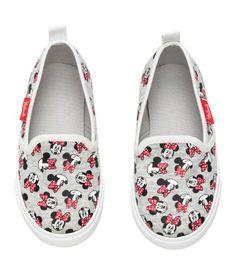 Bootschoenen | Grijs gemêleerd/Minnie Mouse | Kinderen | H&M NL